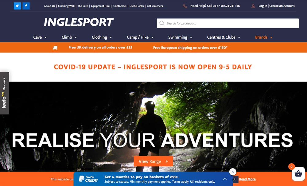 inglesport web design